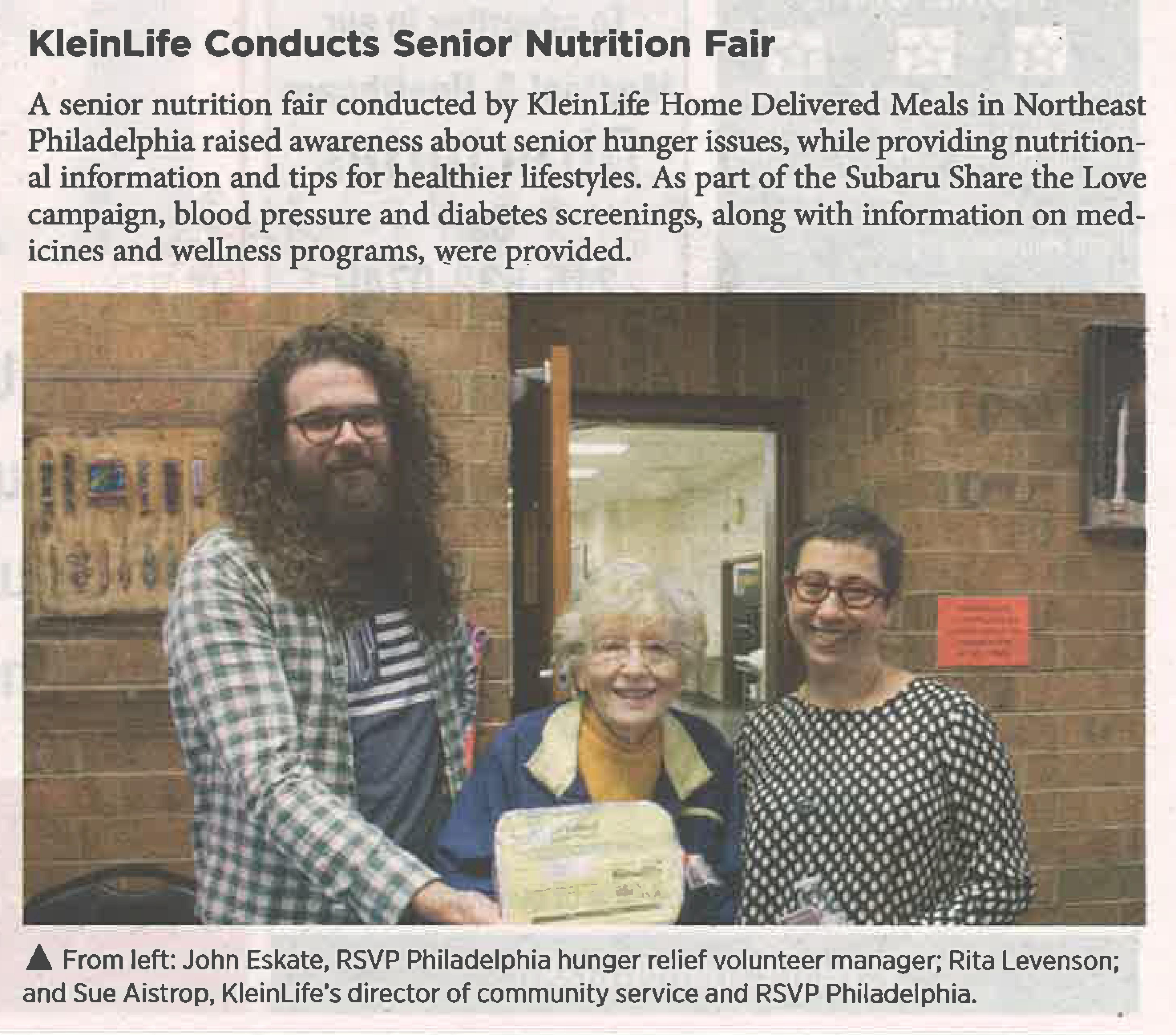 Share the Love Nutrition Fair
